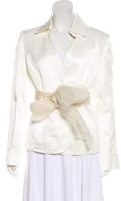 Nina Ricci Structured Casual Blazer