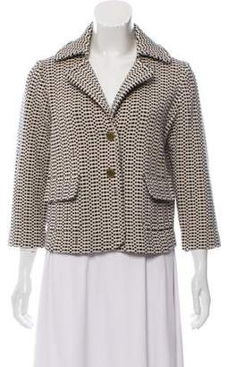 Tory Burch Pattern Knit Jacket