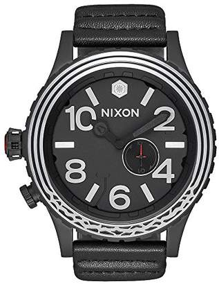 Nixon Men's 'Star Wars Kylo' Swiss made quartz Leather Casual Watch