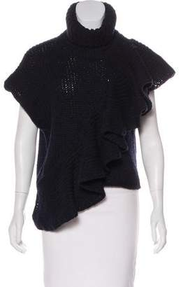 3.1 Phillip Lim Ruffle-Accented Wool Sweater