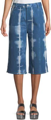 Levi's Tie-Dye Denim Summer Culotte