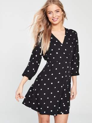 02a5c150 Warehouse Black Print Dresses - ShopStyle UK