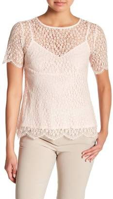 Nanette Lepore Little Susie Lace Top