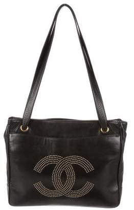 Chanel Studded Vintage Shoulder Bag