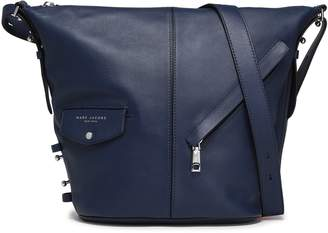 Marc Jacobs Printed Textured-leather Shoulder Bag