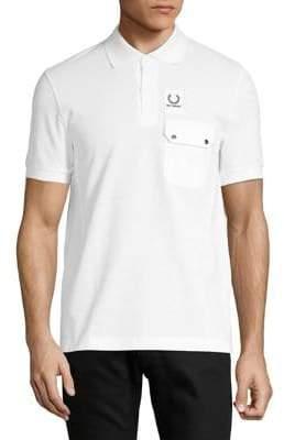 Raf Simons Fred Perry x Pocket Detail Pique Polo Shirt