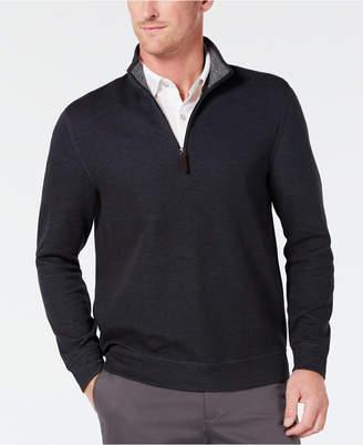 Tasso Elba Men 1/4-Zip Supima Sweater