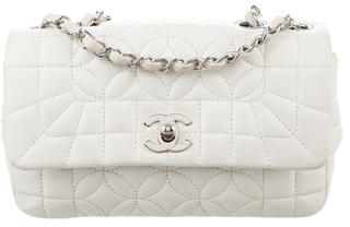 Chanel Chanel Small Lady Graphic Quilted Flap Bag