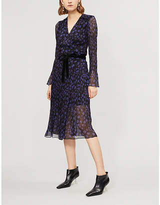 Diane von Furstenberg Ani silk wrap dress