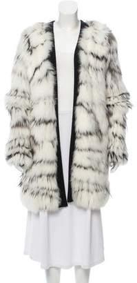 Derek Lam Silver Fox Fur Jacket w/ Tags