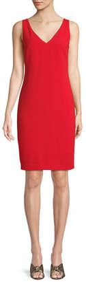 Trina Turk Oceanside Sleeveless Dress w/ Ruched Back