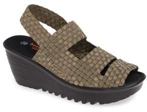 Bernie Mev. Oasis Platform Wedge Sandal