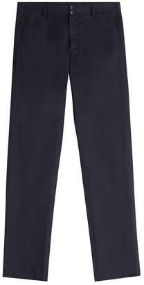 Maison Margiela Cotton Chinos with Linen