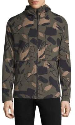 Theory Camouflage-Print Jacket