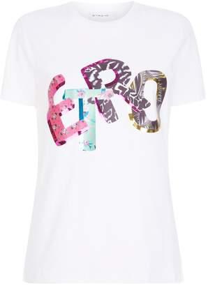 Etro Patterned Logo T-Shirt
