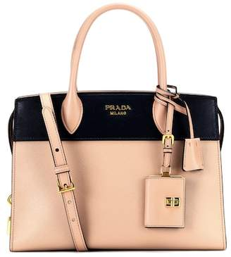 Prada Paradigme saffiano leather tote
