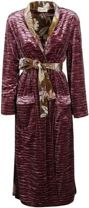 Lulu Black Coral Coat