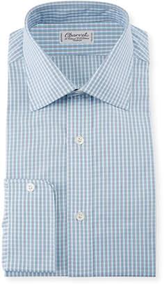 Charvet Men's Plaid Dress Shirt