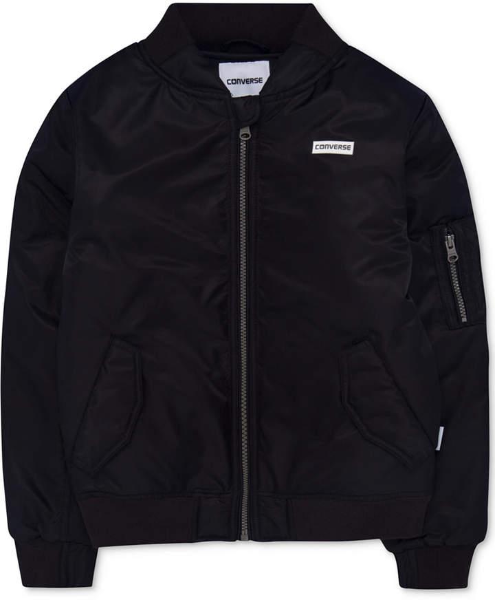 Full-Zip Bomber Jacket, Big Boys