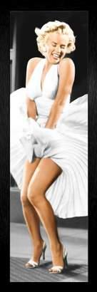 Monroe GB eye Marilyn Seven Year Itch Framed Poster - 94.5x33.5cm