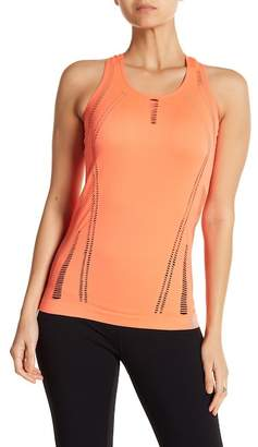 New Balance Racer Back Tee With Cut Outs