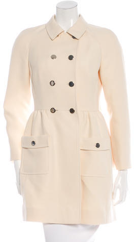 ValentinoValentino Wool Swing Coat