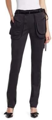 Valentino Flap Pocket Side Stripe Pants