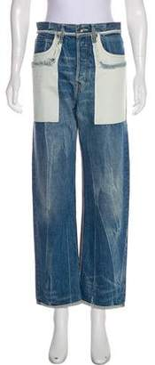 Helmut Lang High-Rise Boyfriend Jeans w/ Tags