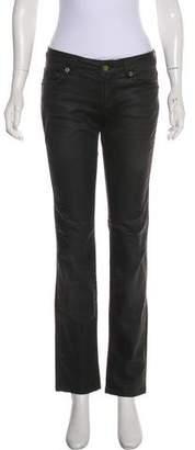 Just Cavalli Low-Rise Straight-Leg Jeans