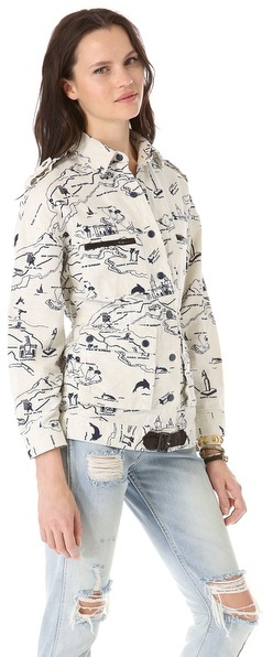Viva Vena Viva Vena! by Vena Cava Belted Zip Pocket Jacket