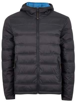 Topman Mens Navy Hooded Liner Jacket