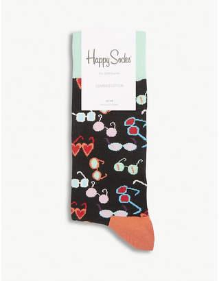 Happy Socks Sunglasses cotton-blend socks
