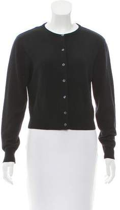 Henri Bendel Wool Button-Up Cardigan