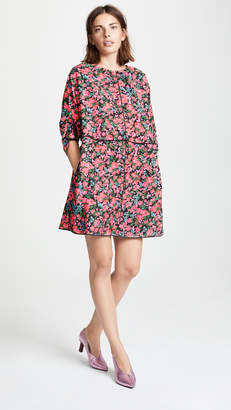 Marc Jacobs Drop Shoulder Mini Dress