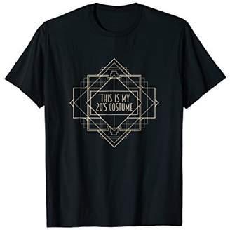 Roaring 1920s Art Deco Tshirt : This is My 20s Costume Shirt