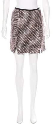 Nina Ricci Wool-Blend Tweed Skirt