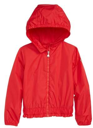 Moncler Erina Water Resistant Hooded Windbreaker