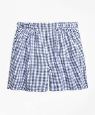 Brooks Brothers Traditional Fit Gingham Boxers