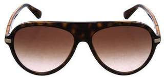 Versace Aviator Gradient Sunglasses
