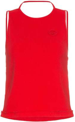 Telfar sleeveless halter neck t-shirt