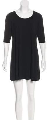 Eileen Fisher Short Sleeve Mini Dress