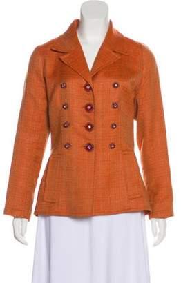 Christian Lacroix Tweed Notch-Lapel Jacket