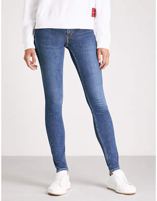 Calvin Klein Washed-out denim jeans