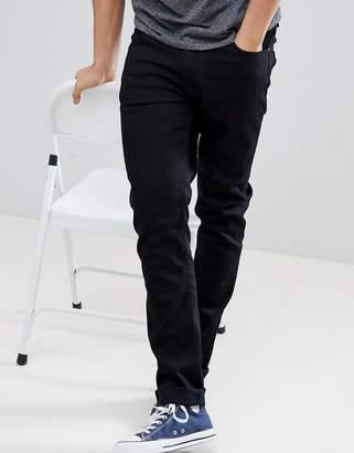 Nudie Jeans Lean Dean jeans in ever black