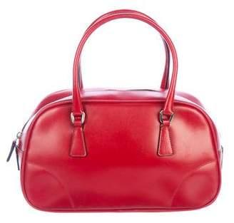 Prada Vitello Lux Mini Bowler Bag