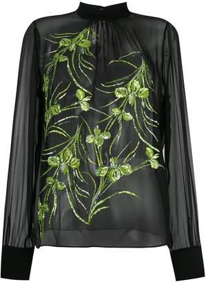 beaded blouse
