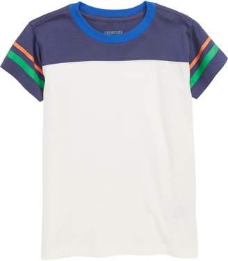 J.Crew crewcuts by Stripe Football T-Shirt