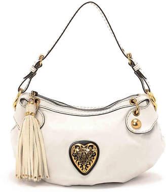 Gucci Vintage Luxury Babouska Leather Shoulder Bag - Women's
