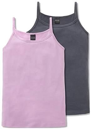 Schiesser Girl's Multipack 2Pack Spaghettitops Vest,Pack of 2