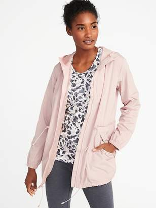 Old Navy Go-H2O Water-Resistant Hooded Anorak for Women